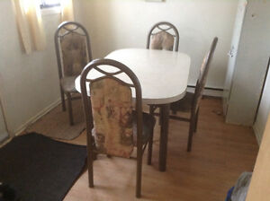 Kitchen set and sectional couch 80$ each