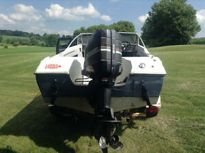 18' Bowrider and 115hp Mercury outboard w/ trailer