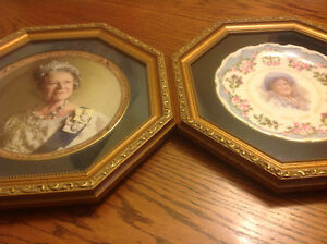 Limited Edition Mounted Collector Plates of the Queen Mother London Ontario image 1