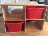 Child's storage shelving / unit Solid Pine