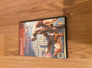 God of War 1 PS2 game for sale