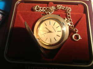 Wittnauer Vintage Mechanical Wind-Up Pocket Watch In Hunter Case