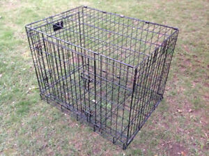 """Life Stages Portable Folding Wire Dog kennel -  24""""H x 30"""" x 31"""""""