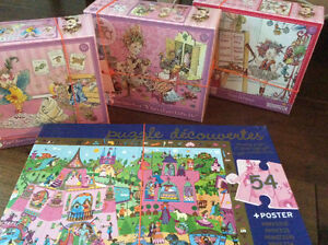 Puzzles-5 Fancy Nancy, Look&Find&Discovery London Ontario image 2