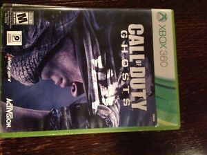 Xbox 360 - Call of Duty (GHOST) and headset Belleville Belleville Area image 1