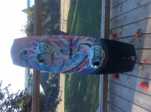 LIquid Force angel 134 woman's wake board. Almost new