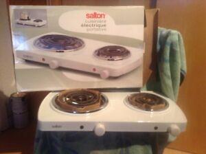 cuisinière électrique poratative