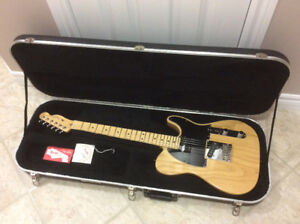 2012 Fender American Standard  telecaster with case