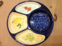Serving plates/dishes