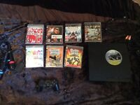 PS3 + 7 Games (Open To Offers)