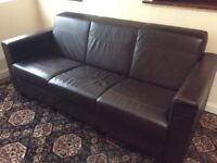 Quality Italian Leather Sofa