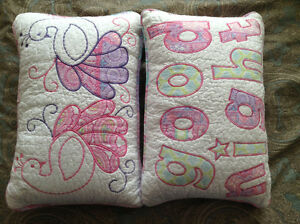 """""""Elephant Island"""" Small Quilted Sham."""