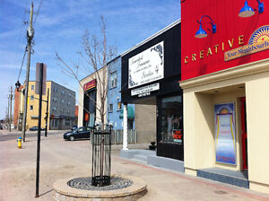 COMMERCIAL WINDOW FRONT SPACE AVAILABLE - Approx. 750 sq.ft.