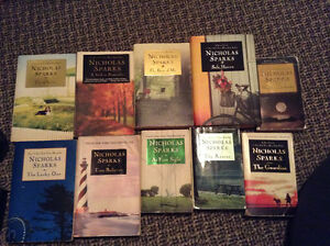 Assorted NICHOLAS SPARKS Novels --- $15 for the LOT