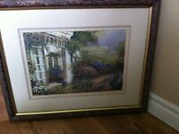 Cottage Motif Bombay Company Prints - Set of 3