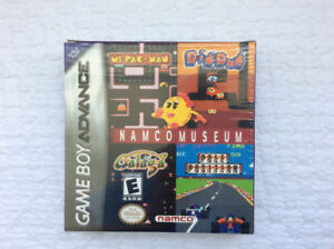 "NAMCO MUSEUM (Nintendo GBA - 2001) ""like new / complete"""