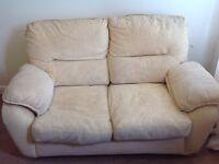 Super comfy yellow sofa