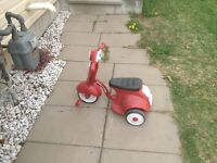 Radio flyer scooter/trycicle