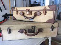 Vintage/retro style suitcases