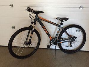 CCM bike, disc brakes