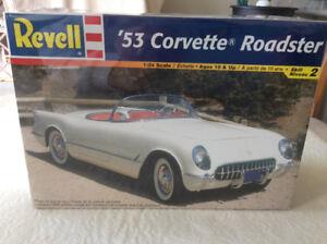 Revell '53 Corvette Roadster model kit 1/24