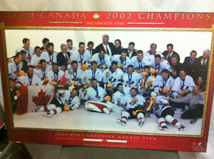 Men's and Women's 2002 Gold-medal Hockey Teams