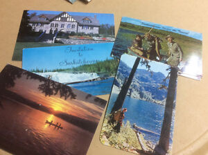 SK vintage postcards from the 1960's