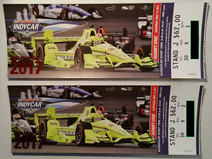 2 Indycar Grand Prix Tickets - great seats!