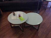 LAPEER COFFEE AND END TABLES $90 (6118328)