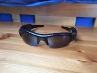 HD Camera Sunglasses + Built-In Mic + Charger & Case