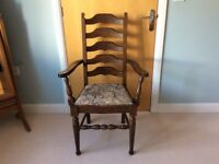 Dining chairs ladder-back