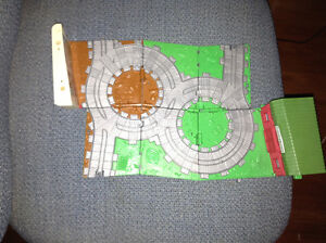 Thomas the Tank Engine train track and buildings for sale