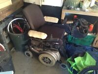 Jazzy 1122 electric wheelchair