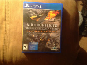 PS4 AIR CONFLICTS SECRET WARS ULTIMATE EDITION $25
