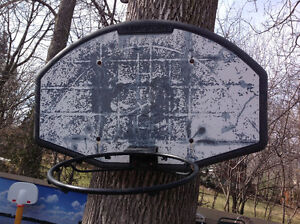 "BASKETBALL WALL MOUNT BOARD 44""W x 28.5""H"