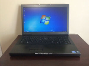 """Dell Precision M6800 Core i7 Laptop, 17"""" LCD, Win 7 & 90 Day Wty"""