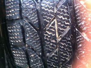 205 60r16 WINTER TIRES ON RIMS. 3yrs old. 400 firm.