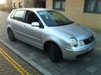 Volkswagen Polo 1.4 Automatic 5 door silver full service history 2005