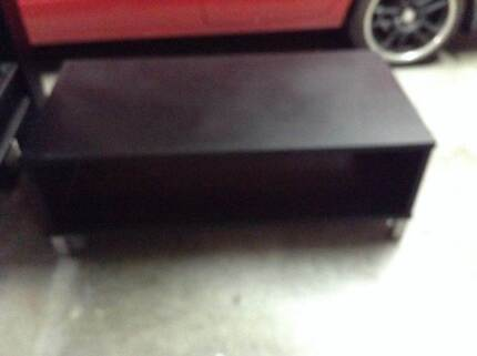MATCHING BLACK COFFEE TABLE AND  TV UNIT - EXCELLENT CONDITION Umina Beach Gosford Area Preview