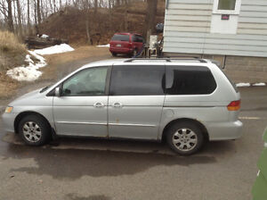 2002 Honda Odyssey Minivan, Van $1000 (price lowered)