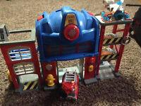 Rescuebots garage