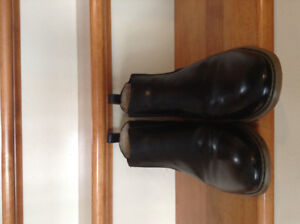 Leather boots new