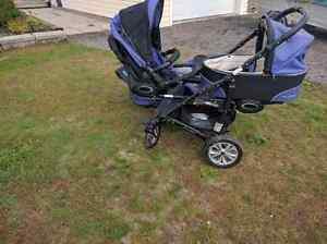 Double Stroller - Twinni by Babyactive Kawartha Lakes Peterborough Area image 1