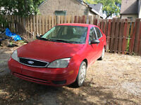 2007 Ford Focus $1500.00 or best offer
