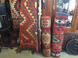 100% Persian wool rugs hand knotted, Kilim, pillows....