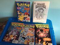 Pokemon Mewtwo Strikes Back Comics (Signed)