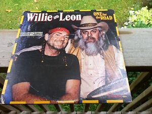 """Willie and Leon Vinyl Awesome Record Double Antique Lp Music 13"""""""