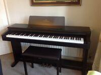 Yamaha Clavinova CLP123 Electric Piano & Yamaha Piano Stool