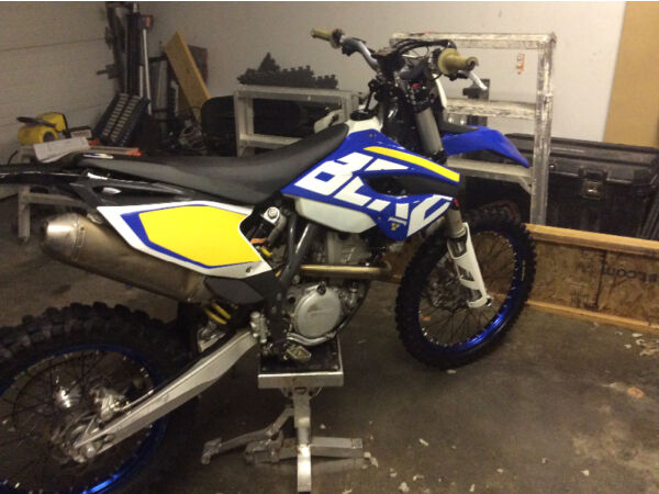 Used 2014 Husqvarna Enduro