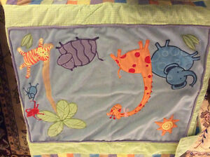BUMPER PAD AND QUILT